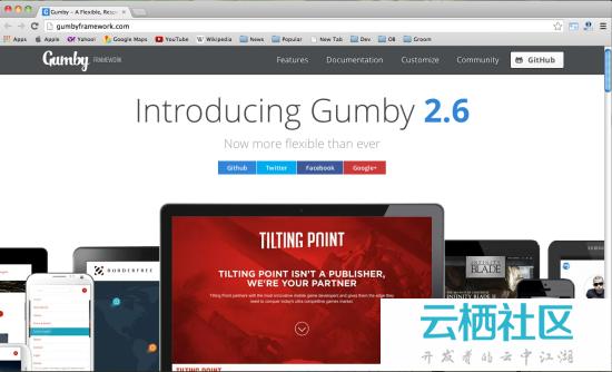 2014 年 15 款最棒的 HTML&CSS 框架-15个html布局
