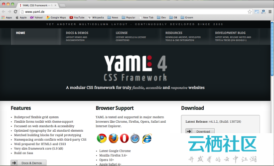 2014 年 15 款最棒的 HTML&CSS 框架-html5 光棒