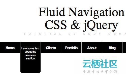 非常出色的jQuery运动特效可以和Flash媲美-jquery特效