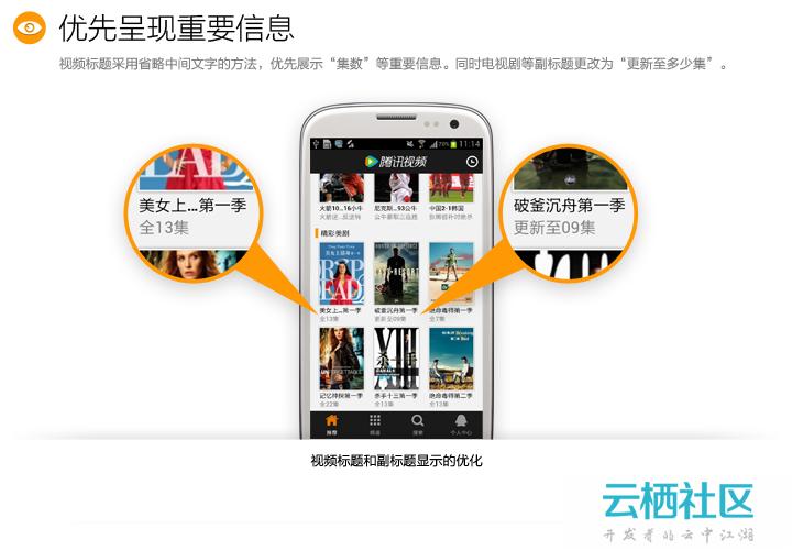 腾讯视频【for AndroidPhone 2.0】设计总结-phonemypc 2.0.3.8