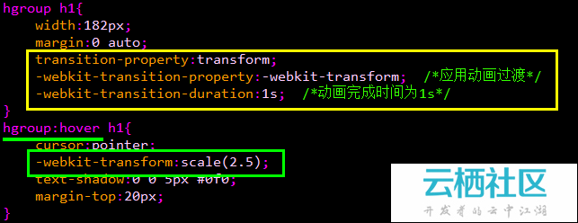 CSS3动画基本的转换和过渡-<a href=
