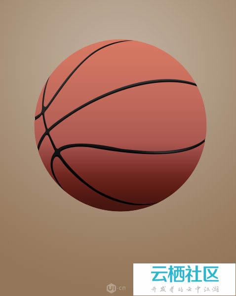 Photoshop制作一个非常逼真的名牌篮球-ps怎么制作逼真的门头