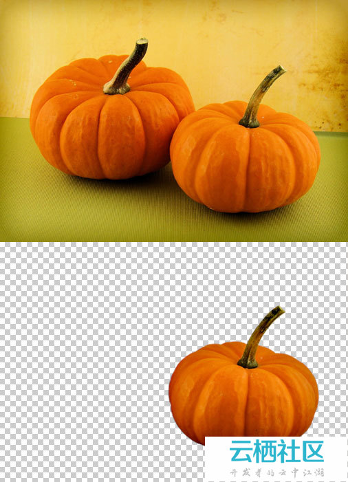 Photoshop制作恐怖的万圣节南瓜灯-万圣节南瓜灯制作方法
